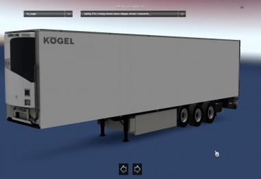 Kogel Trailer White v1.0