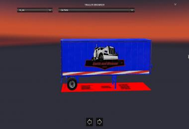 Sw Trans skin for short box trailer v2.0