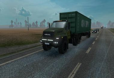 Ural Next updated for ETS2 1.31.x
