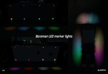 [ATS] Boreman LED Marker Lights v1.4 [11.07.2018]