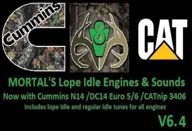 [ATS] Mortal's Lope Idle Engines & Sounds v6.4