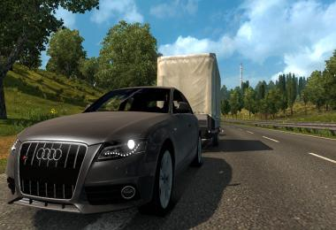 Audi RS4 + Trailer 1.31.x