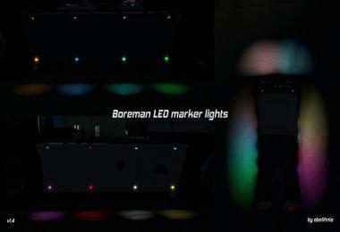 Boreman LED Marker Lights v1.4 [11.07.2018]
