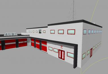 Caserne Pompiers 3D Placeable v1.0