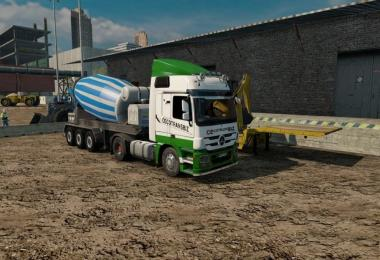 Cement Mixer Trailer 1.31