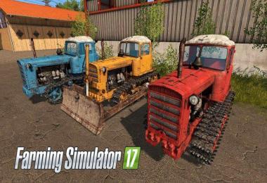 DT-75 and leveler v2.0