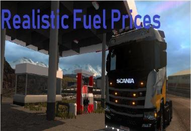Realistic Fuel Prices + Promods (updated July 11th 2018) v1.0