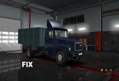 Fix for truck Gaz 3307-3308 v1.0