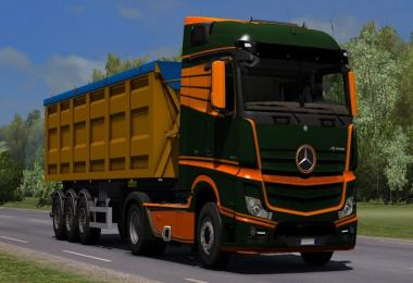 HQ Mercedes Benz New Actros (2014) Sound v1.0