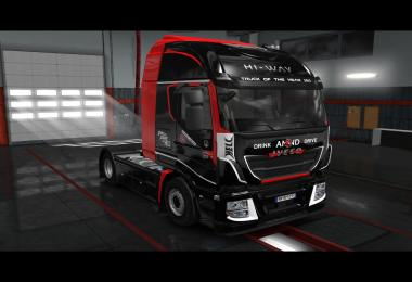 Iveco Hiway - Hell Energy Drink Skin v1.0