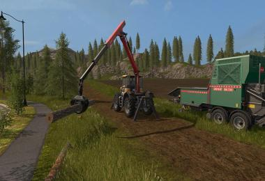 JCB Fastrac 3000 Xtra Forest v1.0.0.1