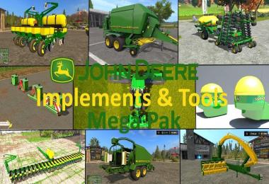 JD implements & tools Mega Pack v1.0
