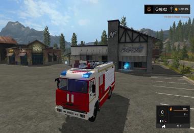 Kamaz fire truck v1.0