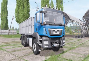 MAN TGS 6x6 L Day Cab v1.2