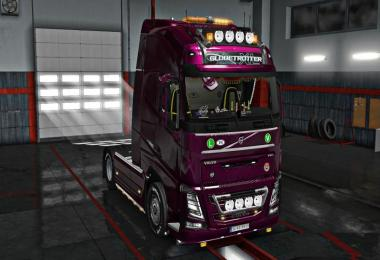New Volvo FH16 Accessories + Interior v4.5