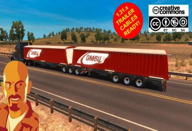 OMBU BI-TRAIN TRAILER (SINGLE & DOUBLE) ATS 1.31.x