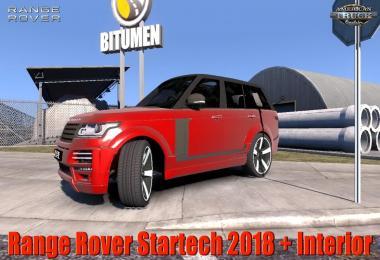 Range Rover Startech 2018 + Interior v2.0