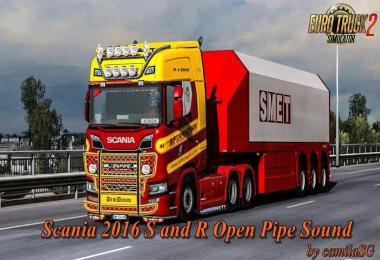 Scania 2016 S and R Open Pipe Sound by camilaSG