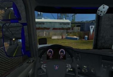 Scania dark grey interior 1.31