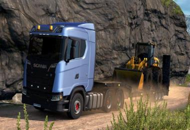 Scania Open Pipe Sound Mod 1.30-1.31