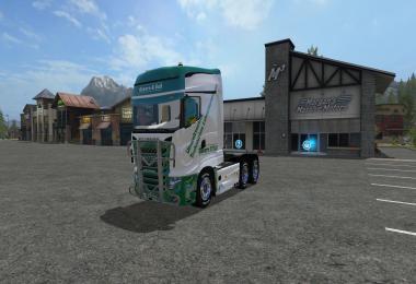 Scania R700 Oster & Voss v1.0