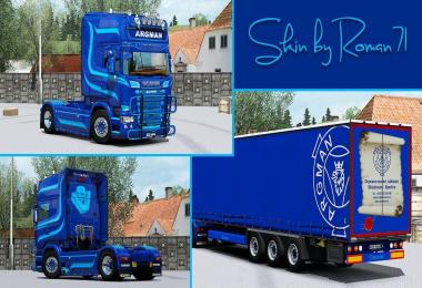 Scania RJL Argman Skin
