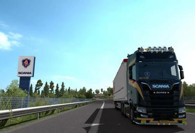 Scania S Next Gen Gold Skin v1.0