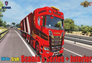 Scania S Series + Interior Edit by .SrqN. upd. 18.07.18