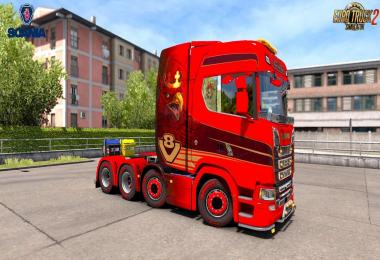 Scania S Series + Interior v2.0