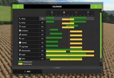 Seasons Geo: Bohemian-Moravian Highlands v1.0