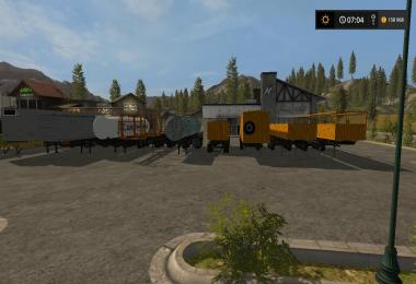 Semi-trailers for Kraz v1.3