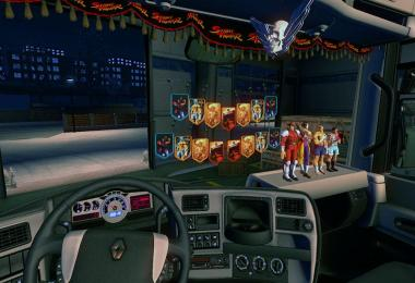 Shadaloo Cabin Accessories Pack v1.0