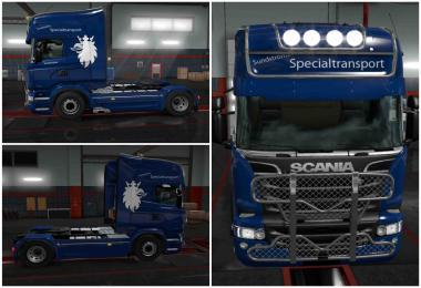 Skin Sundstroms specialtransport For ETS2 1.31.2.6