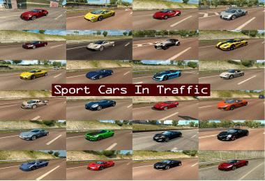 Sport Cars Traffic Pack by TrafficManiac v1.4