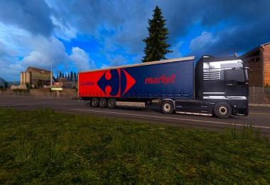 Trailer Carrefour For ETS2 1.30