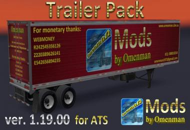 Trailer Pack by Omenman v1.19.00 (Rus + Eng versions)