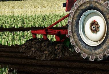 UNIA 3 furrow plow v1.0