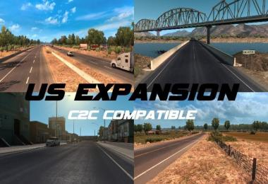 US Expansion v2.3.1 (Normal + C2C Compatible) AiO 1.31.x