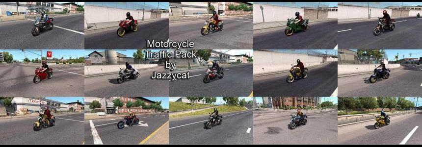Motorcycle Traffic Pack by Jazzycat v1.3