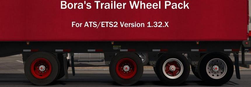 Bora's Trailer Wheel Pack for ATS 1.32B+ v1.0