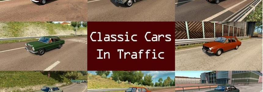 Classic Cars Traffic Pack by TrafficManiac v1.3