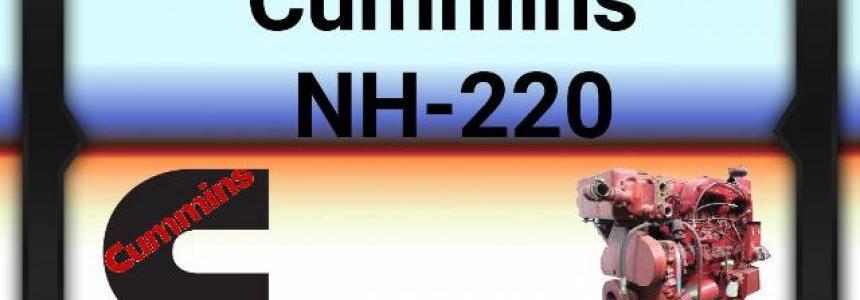 Cummins NH 220 Engine