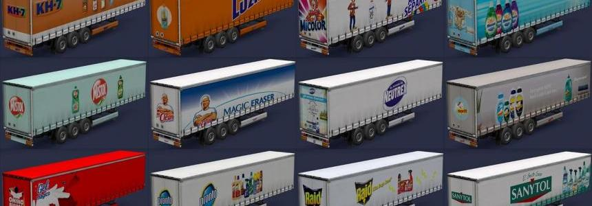 Drugstore products trailers v1.0