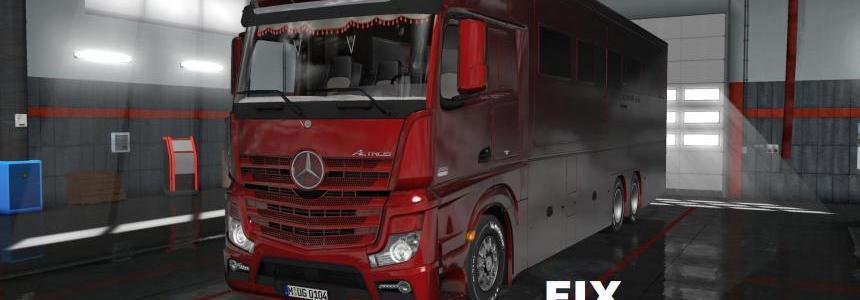Fix for Mercedes Benz MP4 Actros Motorhome v1.0