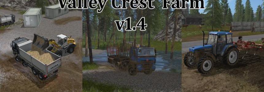 FS17 Valley Crest Farm 4x v1.4.0