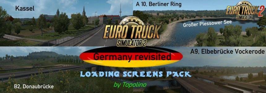 Germany Revisited Loading Screens Pack v1.0