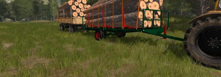 Homemade wood trailer v1.0