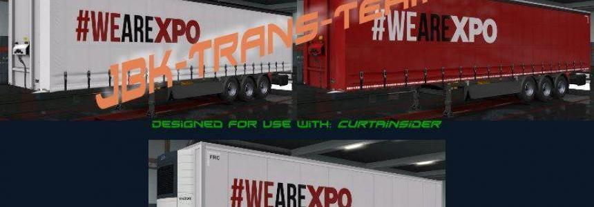 JBK XPO-ND Truck + Owned Trailer Pack v1.0