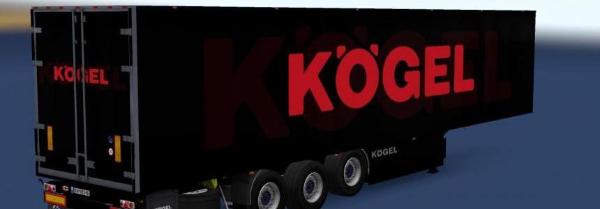 Kogel Trailer Black Big Logo v1.0