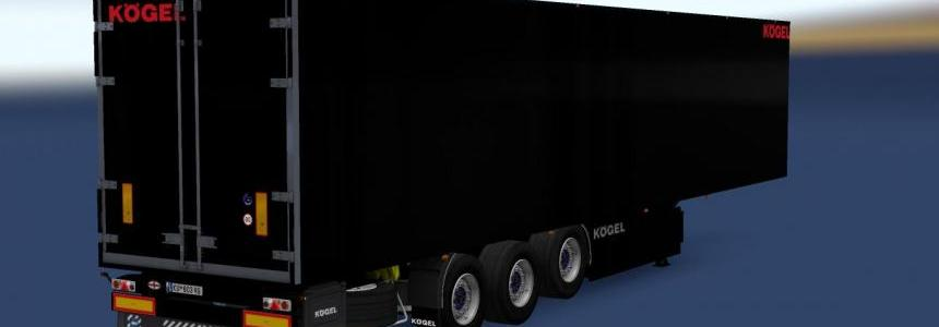 Kogel Trailer Black v1.0